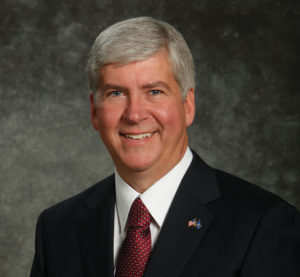 Michigan Gov. Rick Snyder. (Provided by Michigan Governor's Office)