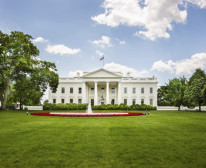The North Facade of the White House is seen. (miralex/iStock)