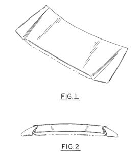 The Automotive Body Parts Association, whose members sell imitation versions of original Ford parts, sued Ford in 2014 over 2004 hood (pictured) and 2005 headlight design patents. (Ford patent, courtesy of United States Patent and Trademark Office)