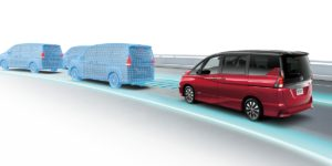 Taking a step towards its full-autonomy-by-2022 goal and delivering on a January promise, Nissan announced Wednesday the Japanese Serena minivan available in August will feature single-lane autonomous driving capabilities. (Provided by Nissan)