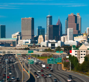 The Atlanta skyline can be seen in this photo. (Davel5957/iStock)