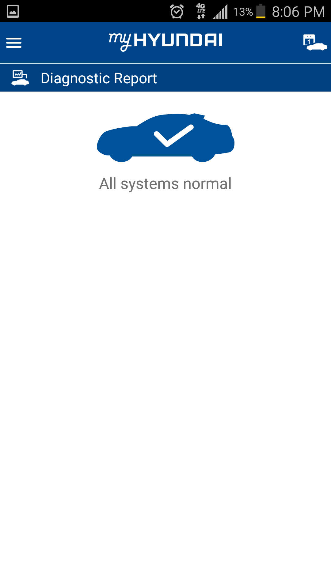 My Hyundai Blue Link >> Hyundai App Tells Driver If Dtc Is Tripped How Urgent The