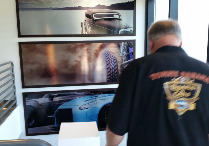 Photos from the SCRS SEMA Garage tour. (John Huetter/Repairer Driven News)