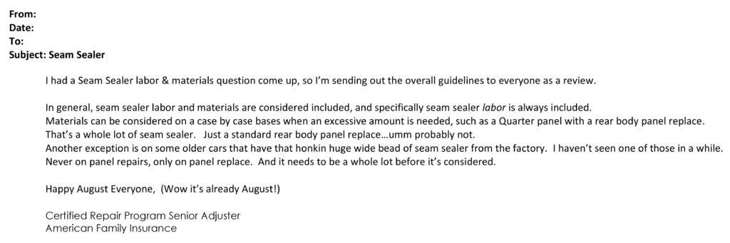 seam sealer email redacted