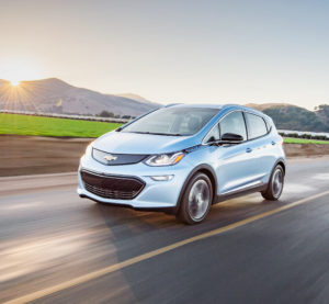 The 2017 Chevrolet Bolt will have aluminum in its closures and fenders. (Provided by Chevrolet/Copyright General Motors)
