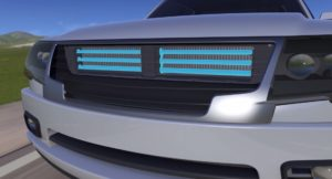 New fuel-saving aerodynamics technology from Magna helps OEMs deliver a better ride and meet gas mileage targets, but it also has the potential to affect collision repairers and auto insurers. (Provided by Magna)