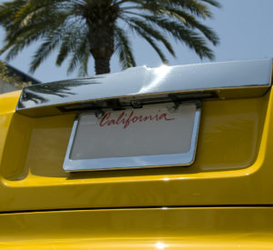 California's license plate now comes with a hot rod and a palm tree. (Frank van den Bergh/iStock)