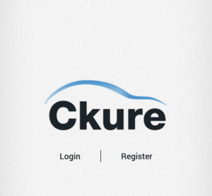 The Ckure app is shown in this screenshot. (Screenshot of Ckure Android app)