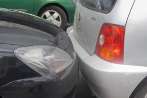 Rear-end collision on a main street in San Jose, Costa Rica, on Aug. 31, 2008. (lilly3/iStock file)