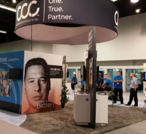 The CCC booth at NACE 2016 is shown. (John Huetter/Repairer Driven News)