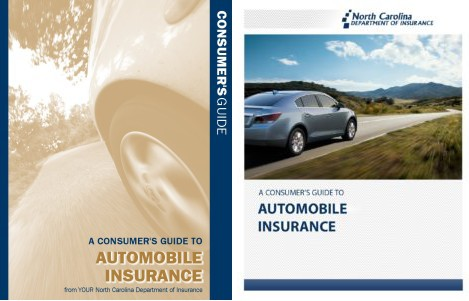 The 2010 (left) and 2016 versions of the North Carolina Consumers Guide to Automobile Insurance are shown. (Provided by North Carolina Department of Insurance)