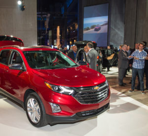 Chevrolet shows off the the 2018 at the Museum of Science and Industry in Chicago on Sept. 22, 2016. (Brian Kersey for Chevrolet/Copyright General Motors)