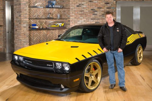 Celebrity builder Chip Foose is seen in a past partnership with WD-40. (Provided by WD-40 via Business Wire)