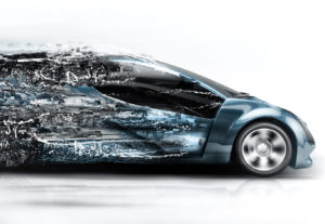 But what happens to the rear-seat passengers in disintegrating stock art future cars? (cosmin4000/iStock)