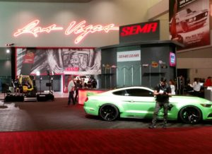 The calm before the big show: SEMA 2016 on Oct. 31, 2016, a day before the event starts. (John Huetter/Repairer Driven News)