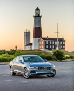 The 2017 Volvo S90 is shown in the Hamptons. (Provided by Volvo)