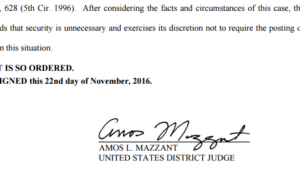 Eastern District of Texas Judge Amos Mazzant on Tuesday issued a temporary injunction on a Dec. 1 overtime rule which would likely have affected employees and owners at most body shops. (Provided by Eastern District of Texas via Texas Attorney General's Office)