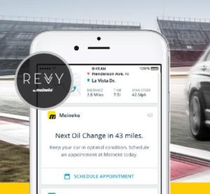 Meineke will sell a new connected car capability known as the Revvy. (Provided by Meineke)