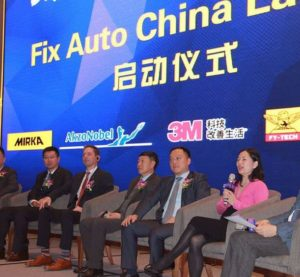 "Fix Auto's quest for collision repair global dominance continued Dec. 1, 2016, with the announcement that the franchisor had launched a 78-shop Fix Auto China, ""with momentum building and new locations being added regularly."" (Provided by Fix Auto China)"