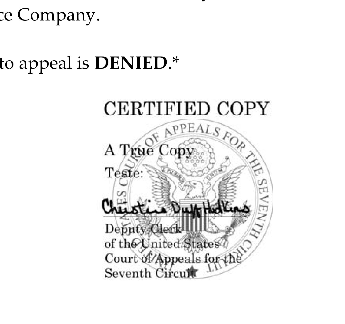 7th circuit denies state farm petition to appeal class certification in  7 6b lawsuit tied to
