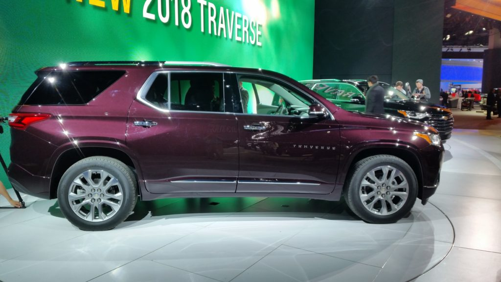 2018 chevrolet traverse high country. interesting 2018 sholte confirmed the overall body engineering also included using more  ultrahighstrength steels inside 2018 chevrolet traverse high country h