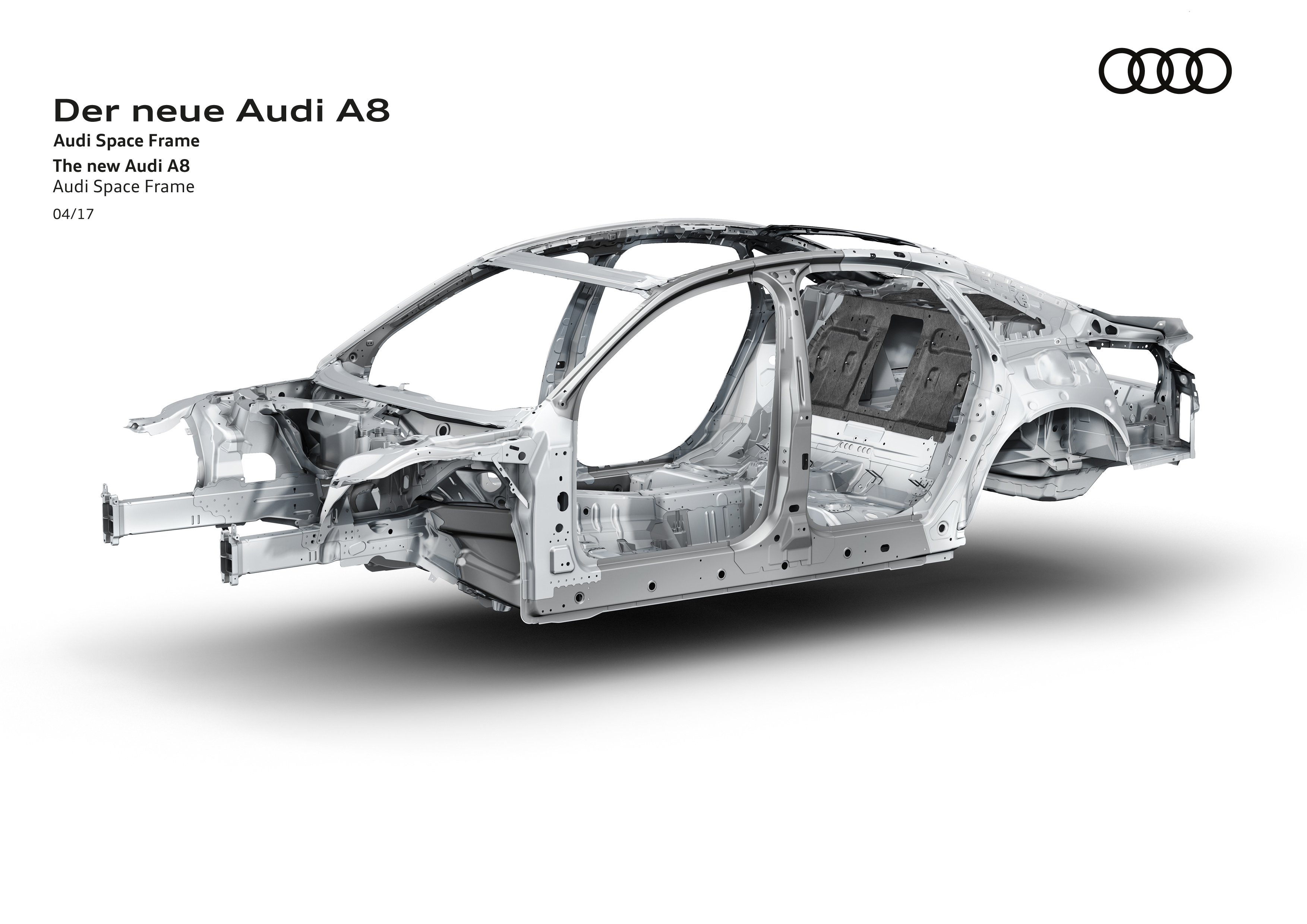 Upcoming Audi A8 uses UHSS, aluminum, carbon-fiber, magnesium; joins ...