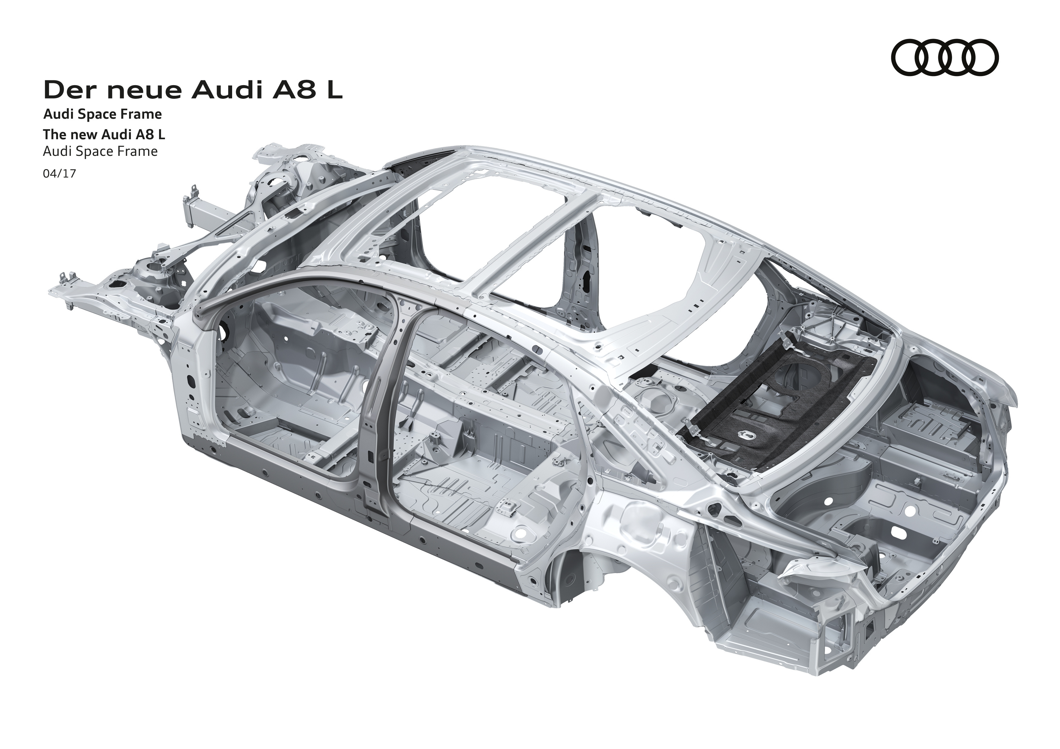 Upcoming Audi A8 uses UHSS, aluminum, carbon-fiber, magnesium ...