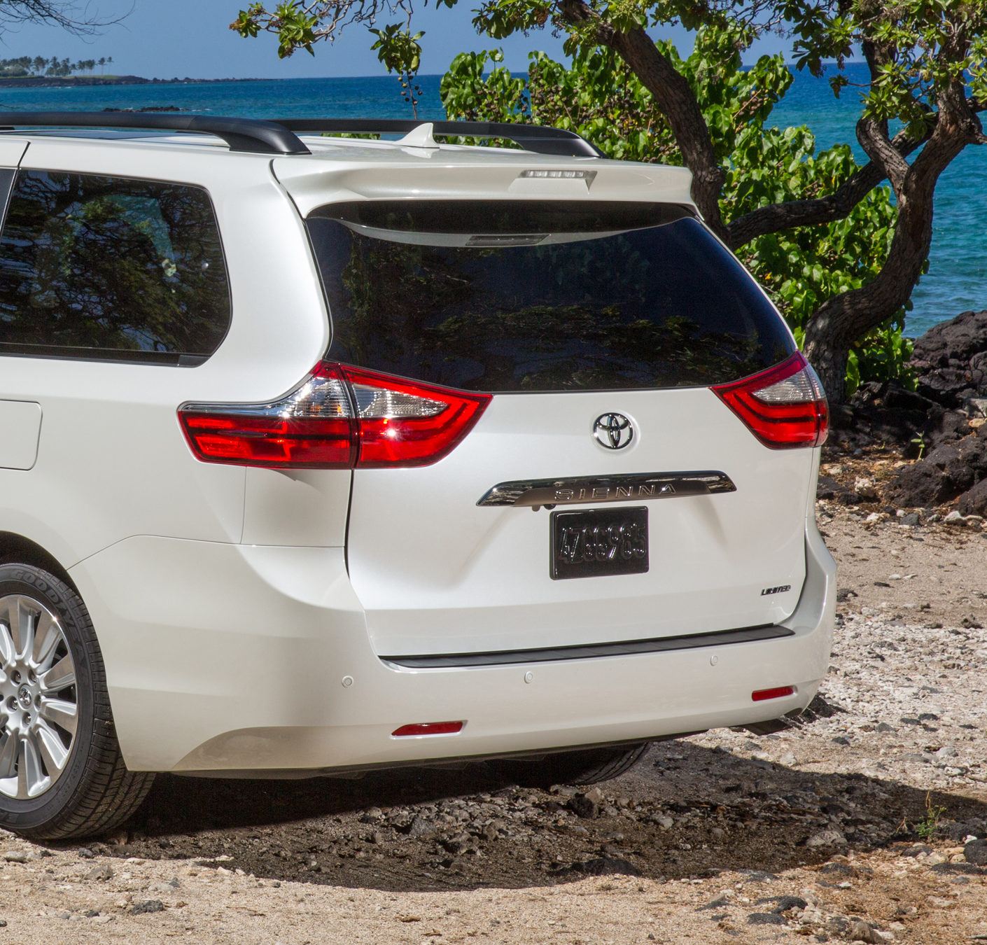 Toyota: Don't repair, blend over radar field of view on rear