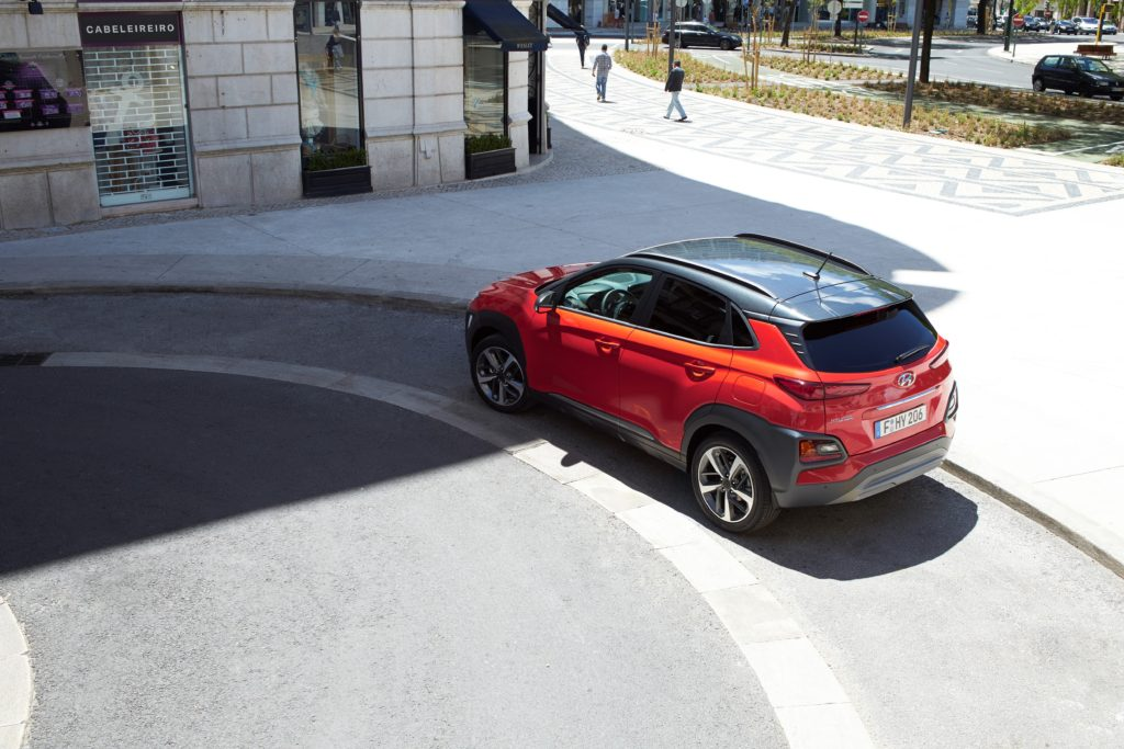 new hyundai crossover kona 51% advanced high-strength steel, offers