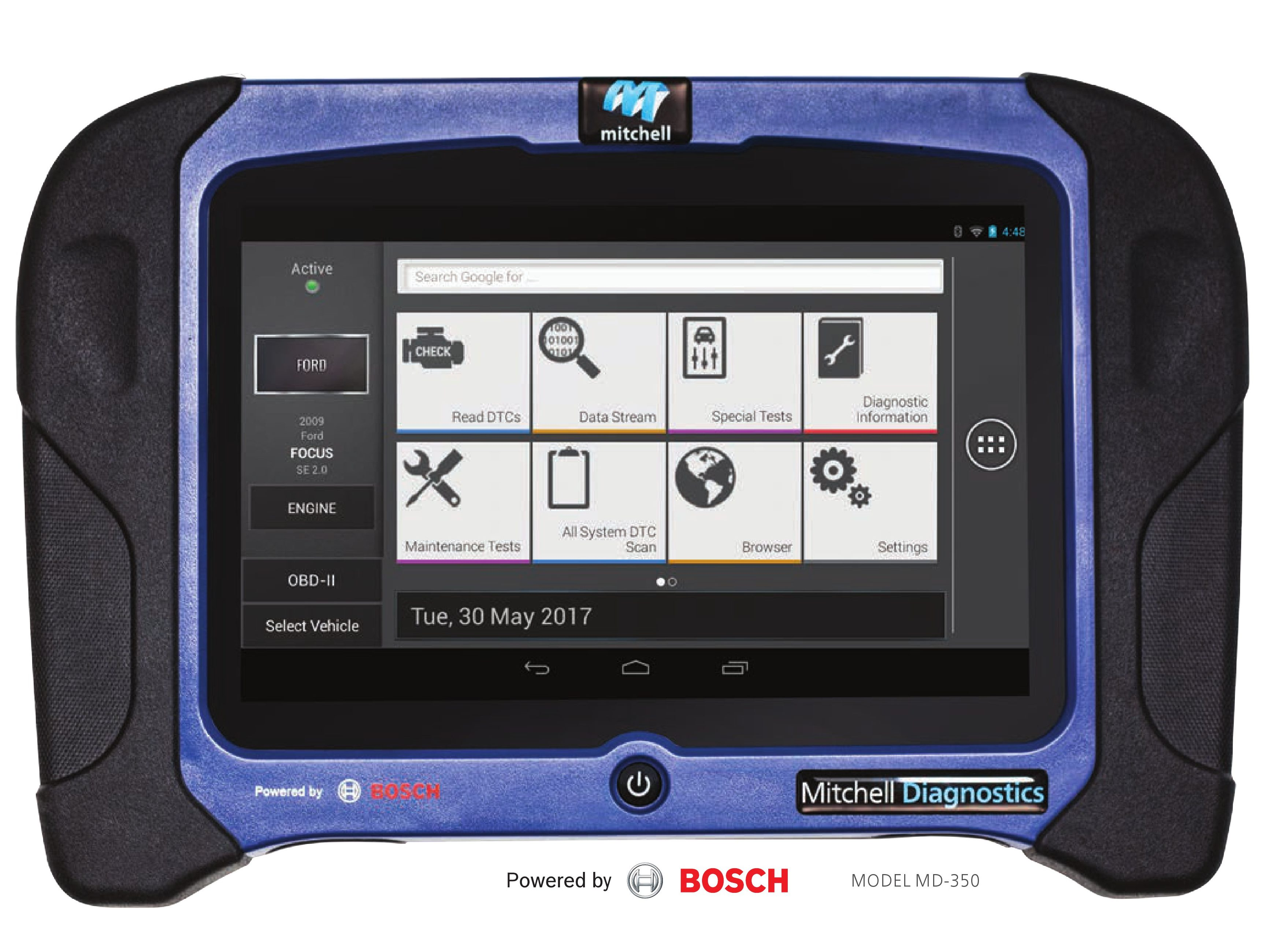 Tire Repair Kit >> Mitchell gets into scanner business, partners with Bosch ...