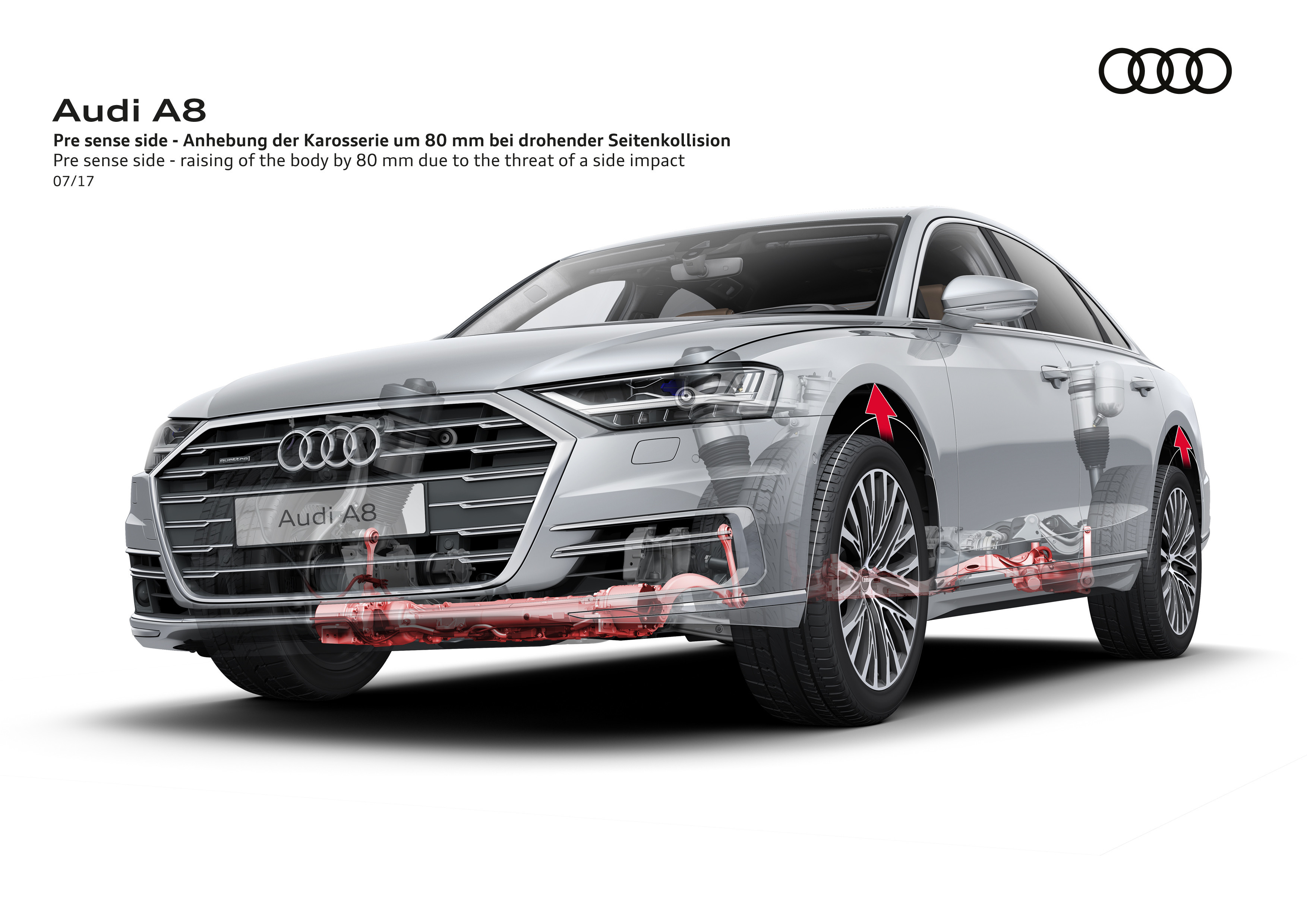 audi automotive news 2018 a8 to have level 3 hands off the