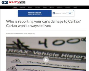 Update Kutv Carfax Story Shows Importance Of Securing Customer S