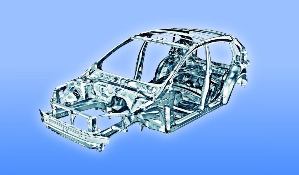 Highstrength steel Subaru platform returns for 18 Crosstrek