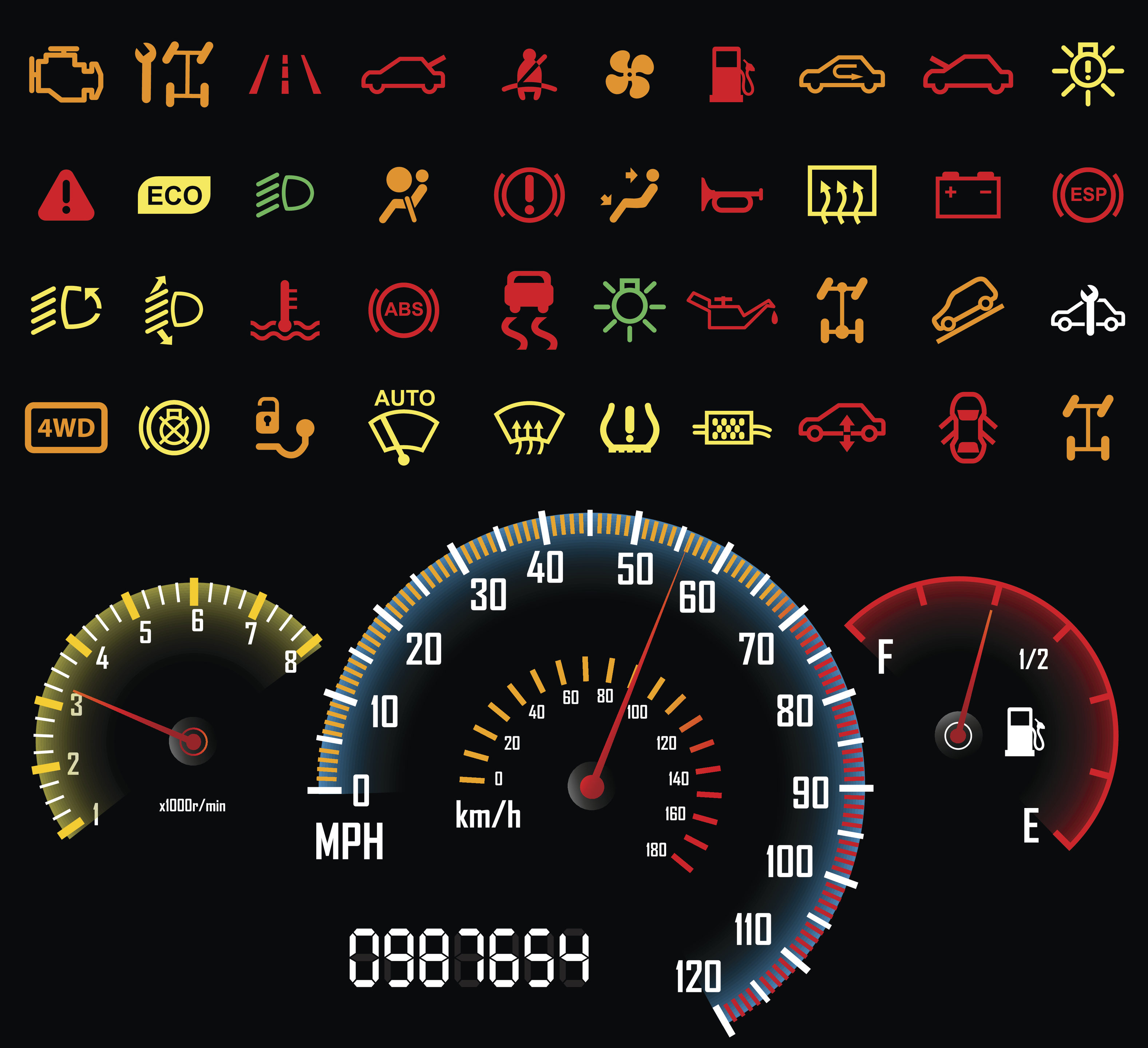 Vehicle Dashboard Lights >> CIC Insurer-Repairer Relations head urges shops, carriers to kill 'dash light diagnostics' myth ...