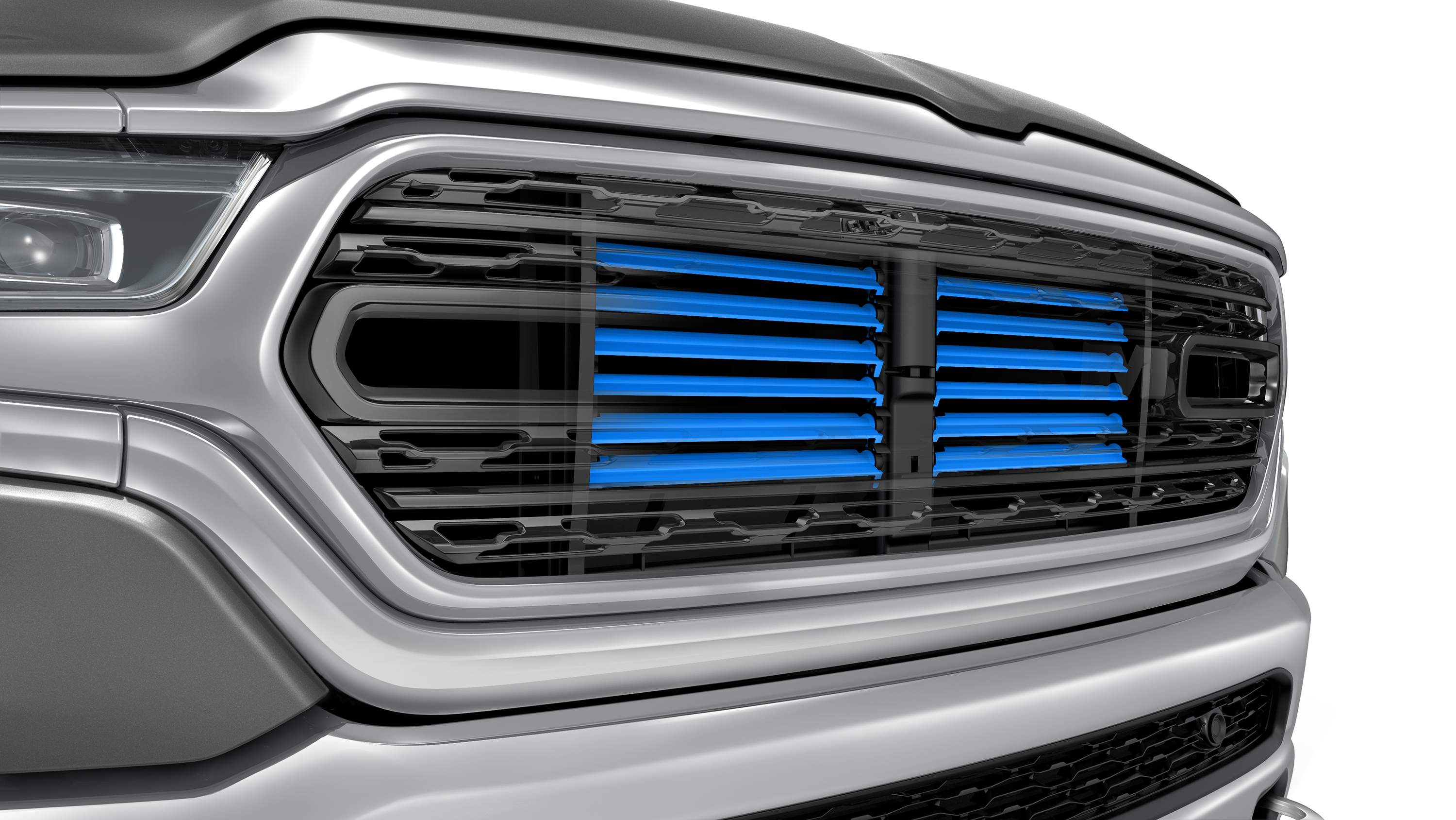 2019 Ram 1500 Aerothermal Manager Marc Babich Said In An Fca Video That The Oem Moved Active Shutters Closer To Grille Truck For Better