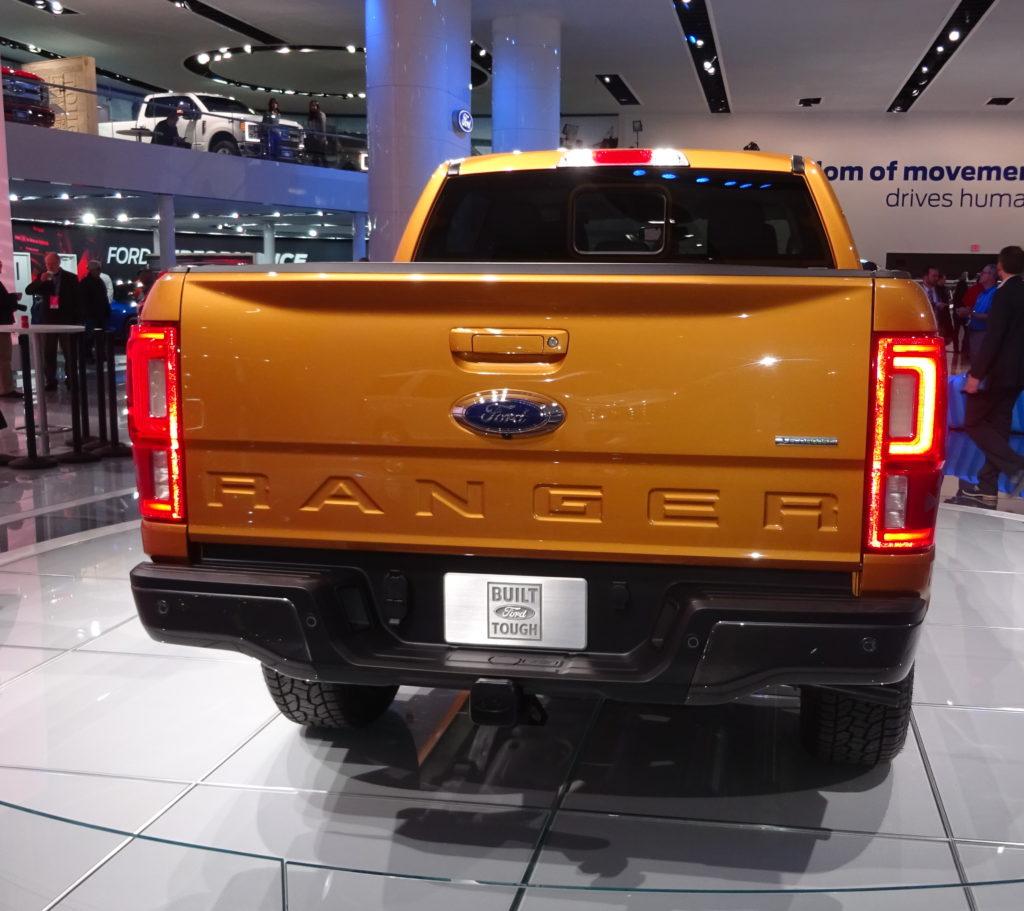 2019 Ford Ranger has aluminum hood, fenders, tailgate ...