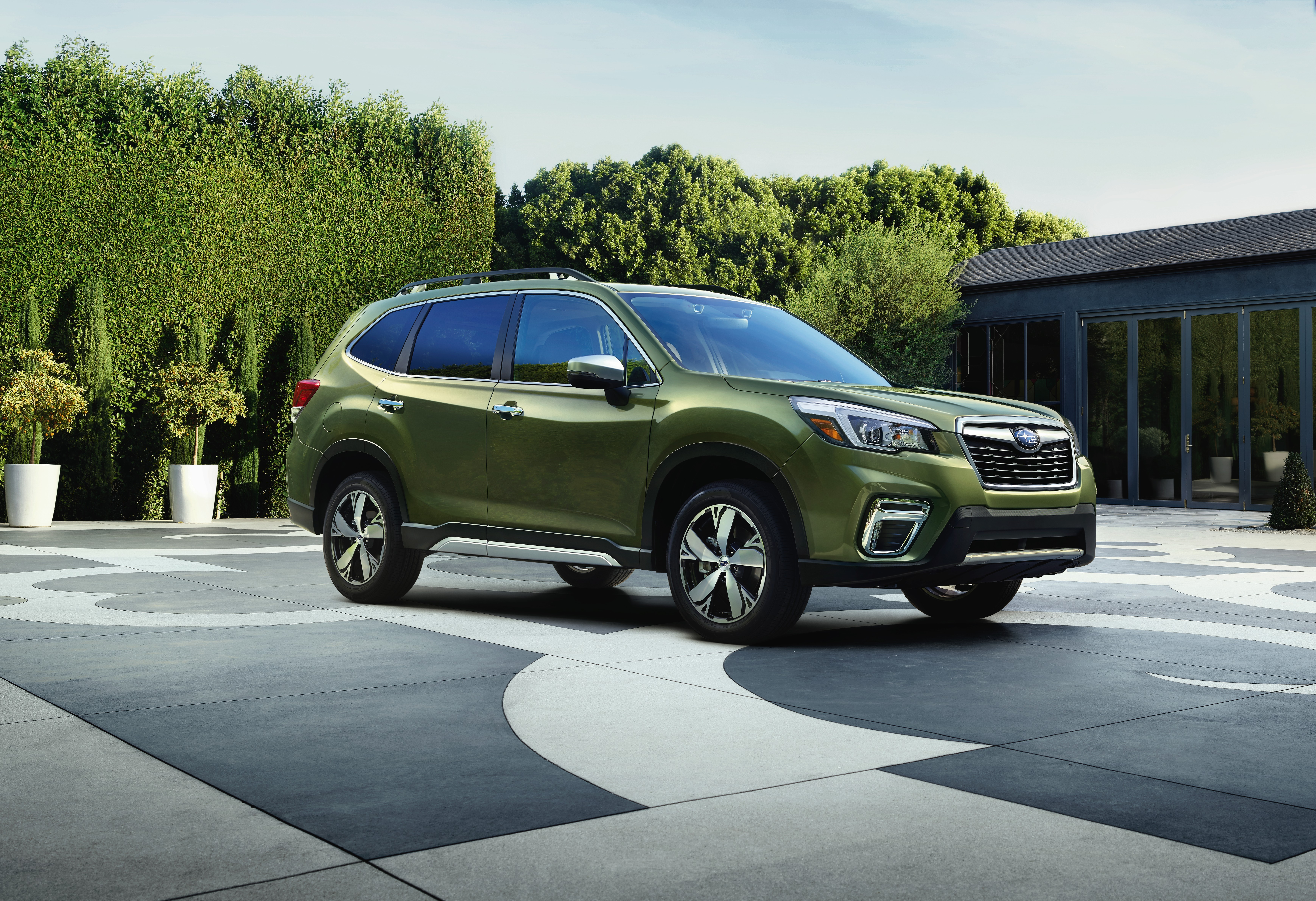 2019 Subaru Forester 13% ultra-high-strength steel, has lots