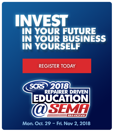 SCRS RDE registration