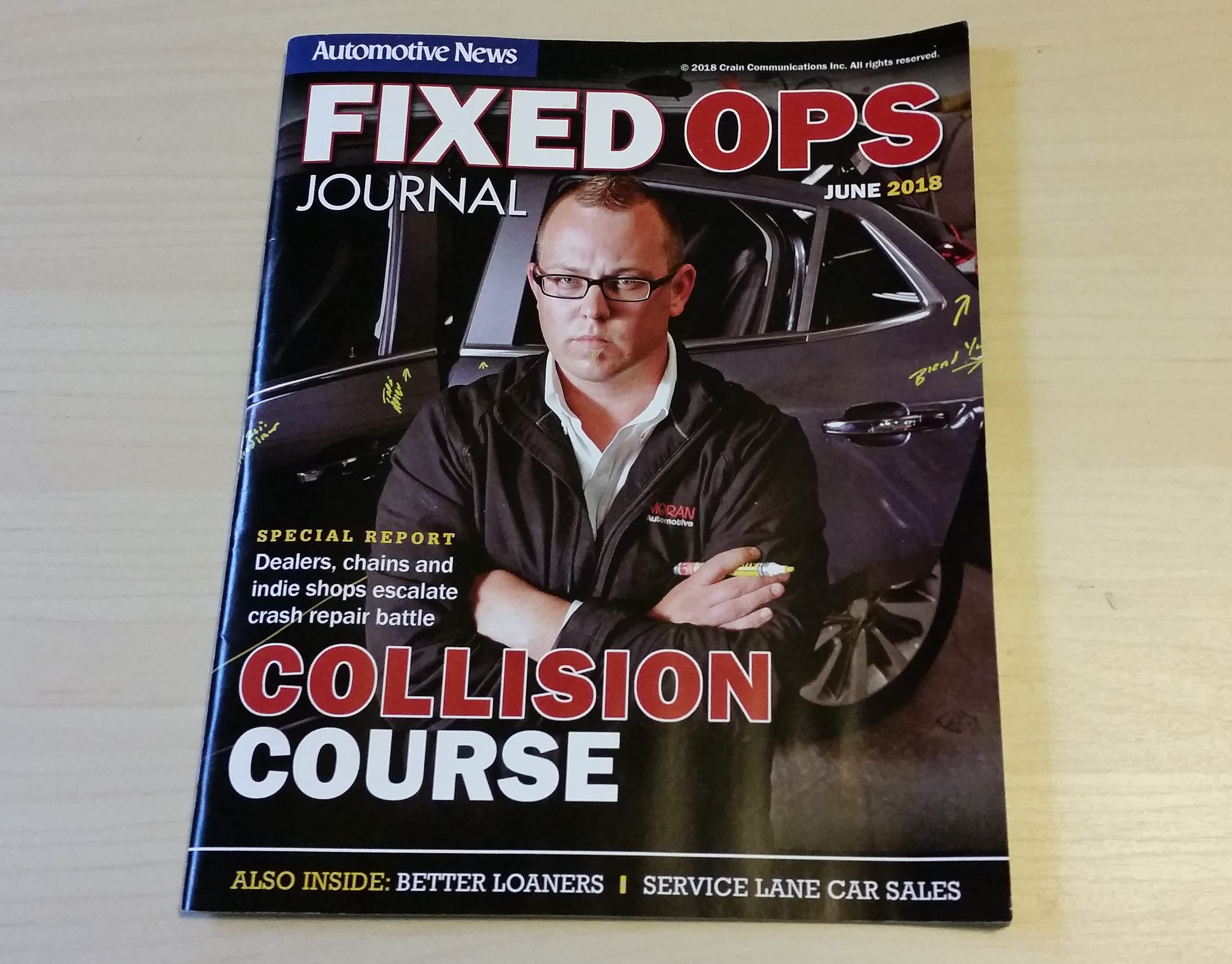new issue of fixed ops journal focuses on collision repair repairer driven newsrepairer driven news new issue of fixed ops journal focuses