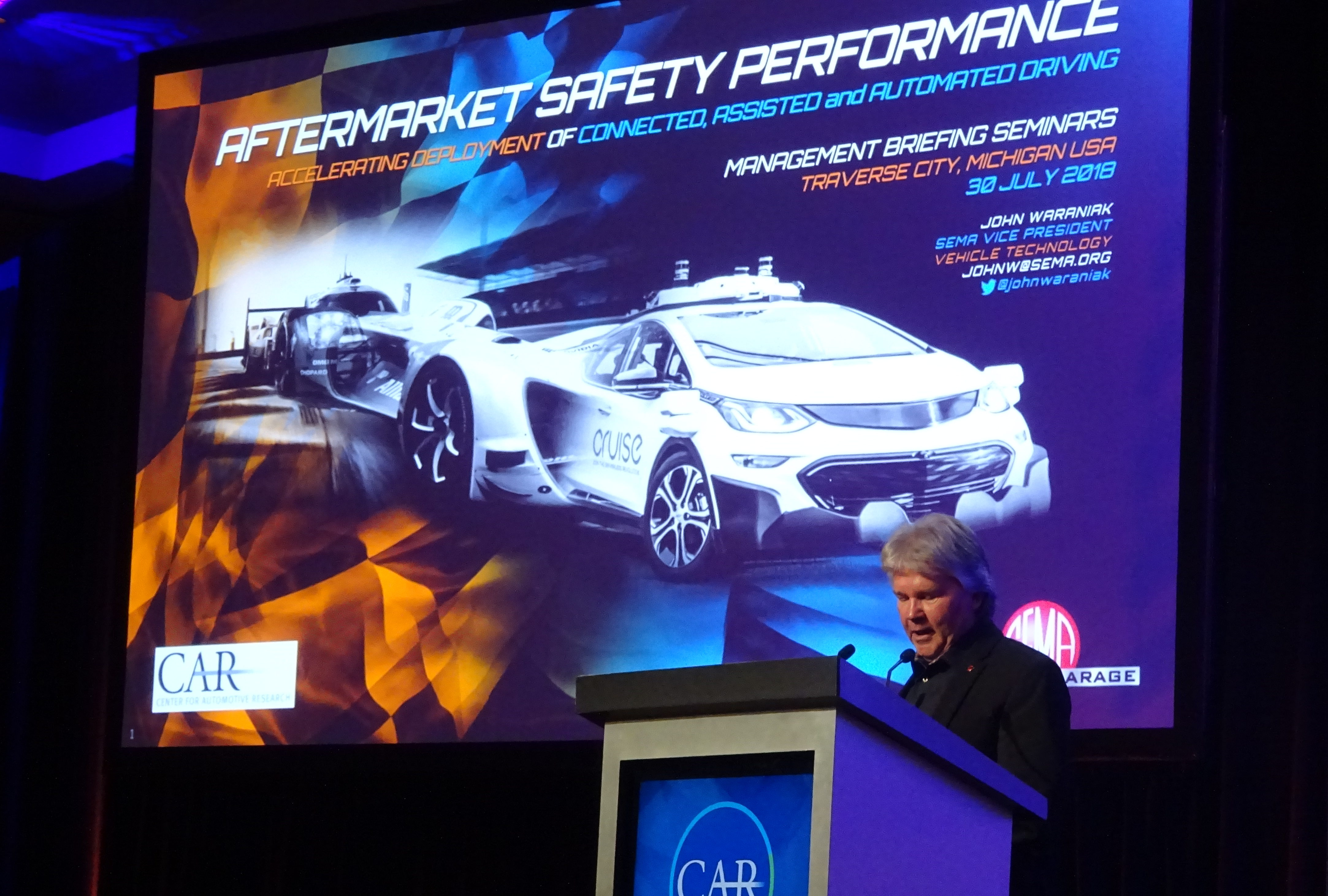 c305870ed2 SEMA VP  Model for double-checking ADAS functionality could be FMVSS -  Repairer Driven NewsRepairer Driven News