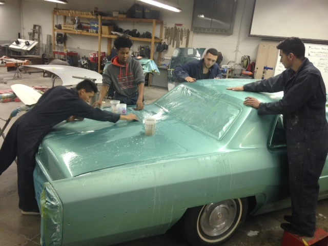 Cref Partners Award 500k In Grants To Auto Body Vo Tech