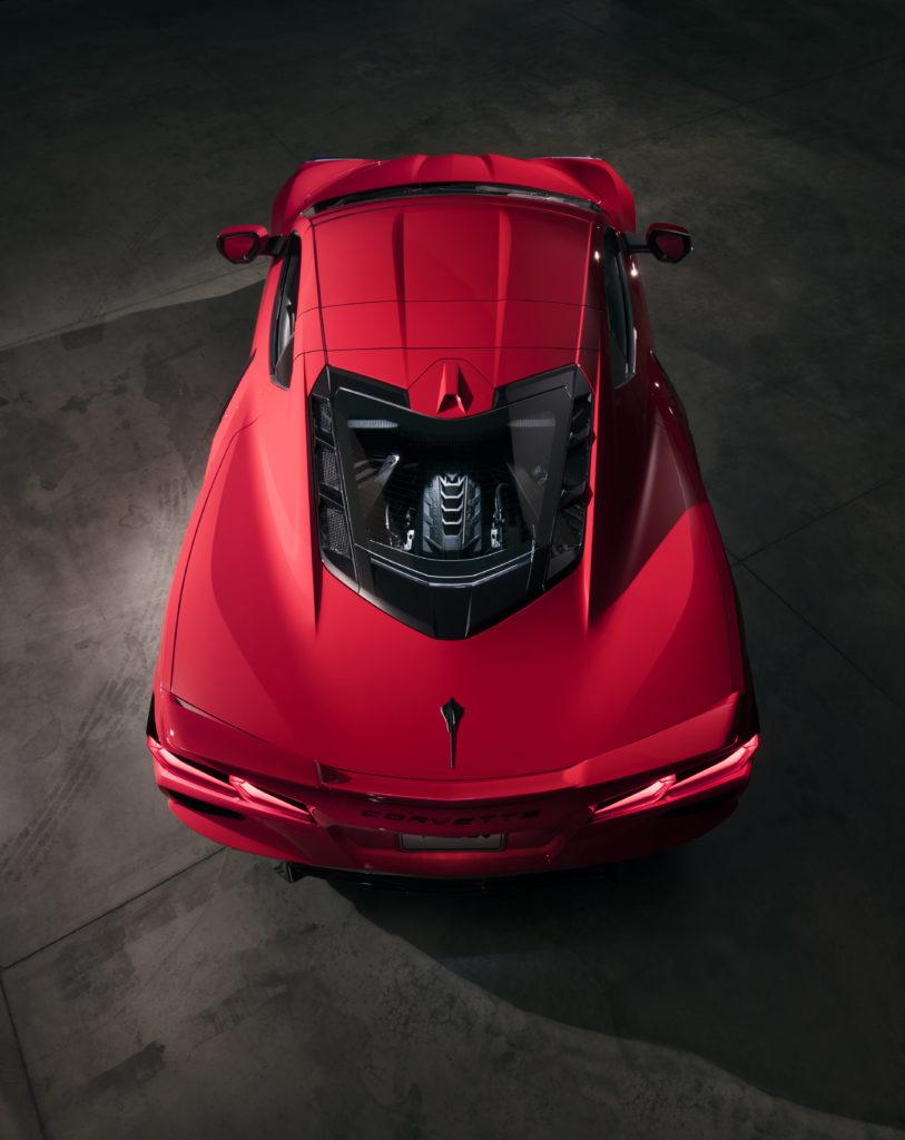 Mid-engine 2020 Corvette Stingray incorporates aluminum ...