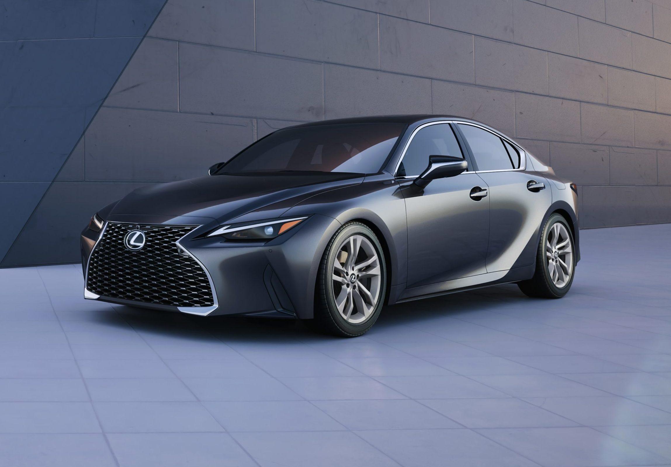 2021 lexus is adjusts body as part of 'lexus driving
