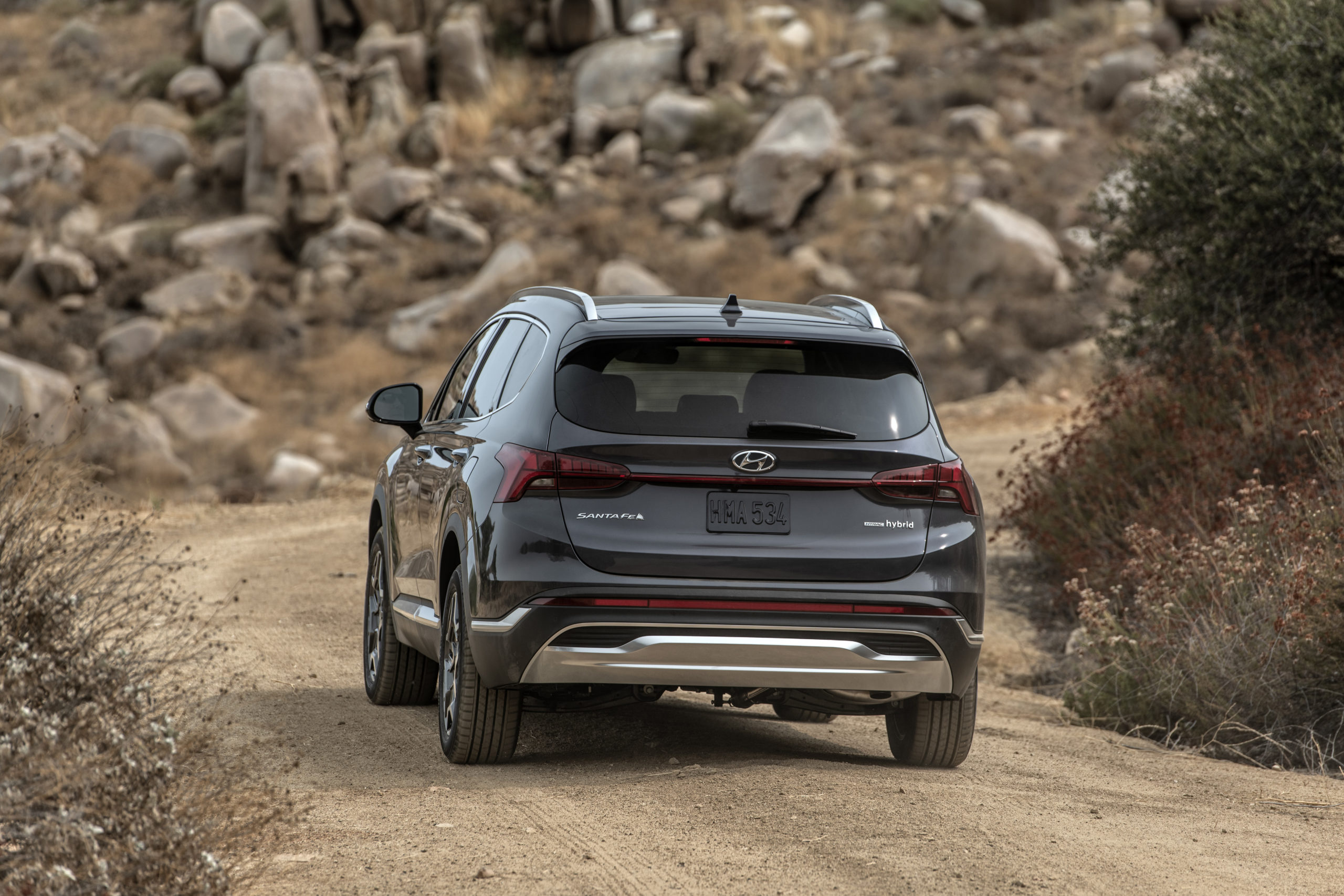 2021 Hyundai Santa Fe refresh changes steel, underbody ...